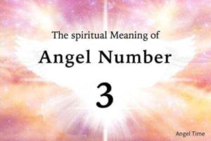 エンジェルナンバー3の数字の意味『あなたの祈りが聞かれ、愛と豊かさをもたらすでしょう』