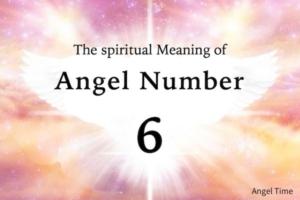 エンジェルナンバー6の数字の意味『目標と願望、精神とのバランス』