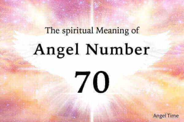 エンジェルナンバー70の数字の意味『あなたの前向きな意思と行動が賞賛されています』