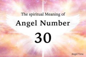 エンジェルナンバー30の数字の意味『直感・今あるものに感謝して』