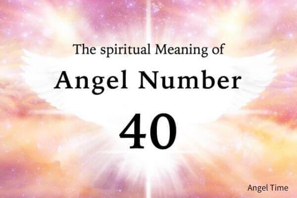 エンジェルナンバー40の数字の意味『あなたの仕事や、愛していることをやり続けて』