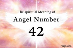 エンジェルナンバー42の数字の意味『人を愛すること・人生の目的と情熱』
