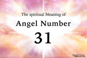 エンジェルナンバー31の数字の意味『前向きな見通し・自分が選択した道に自信を持って』