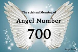 エンジェルナンバー700の数字の意味『あなたの前向きな意志や行動に対する成果』