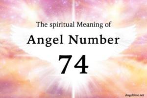 エンジェルナンバー74の数字の意味『直感力と強力な本能に従うとき』