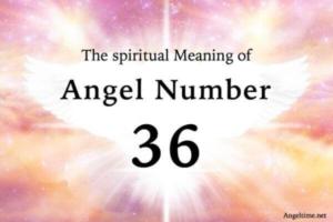 エンジェルナンバー36の数字の意味『物質的な要求の実現・精神性を豊かに』