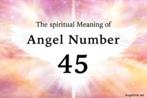 エンジェルナンバー45の数字の意味『あなたらしさ・苦労が報われる時』