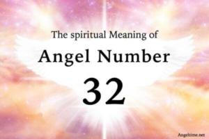 エンジェルナンバー32の数字の意味『信念・愛・信頼』