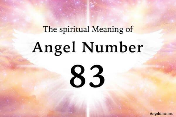 エンジェルナンバー83の数字の意味『天使やアセンデッドマスターに愛されています』