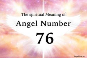 エンジェルナンバー76の数字の意味『あなたの祈りは届いています・思考に集中する時』
