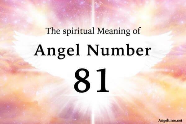 エンジェルナンバー81の数字の意味『ポジティブな姿勢・感謝』