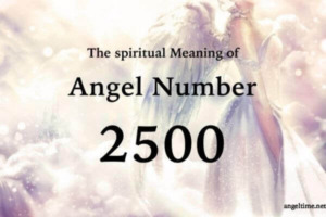 2500のエンジェルナンバー数字の意味『良い人生の変化・ポジティブなアファメーション』