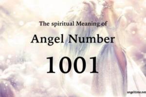 エンジェルナンバー1001の数字の意味『ポジティブなアファメーション・波動を高めて』