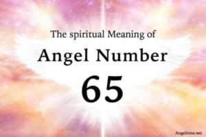 65のエンジェルナンバー数字の意味『天使たちが人生の変化を手助けをしてくれています』