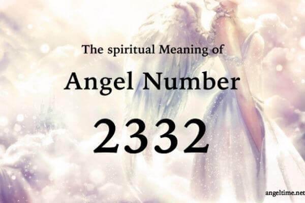 2332のエンジェルナンバー数字の意味『天使や高次元の力があなたのそばにあり導いています』