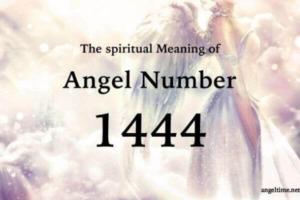 1444のエンジェルナンバー数字の意味『天使や大天使があなたにポジティブなエネルギーを送っています』