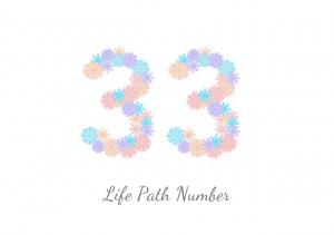 カバラ数秘術 誕生数33の性格の特徴と運気アップのポイント