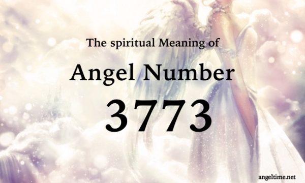 エンジェルナンバー3773の数字の意味