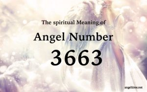エンジェルナンバー3663の数字の意味