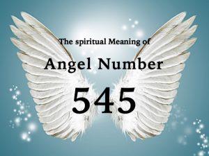 エンジェルナンバー545の数字の意味
