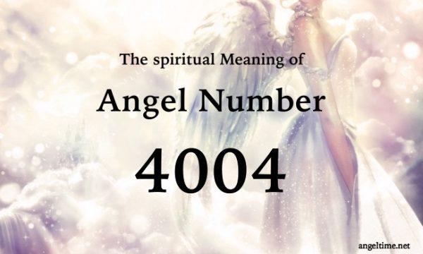 4004のエンジェルナンバーの意味