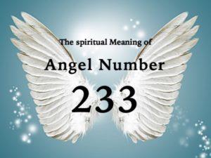 エンジェルナンバー233の数字の意味『天使たちが、人々に対して親切でありましょうというメッセージを送...