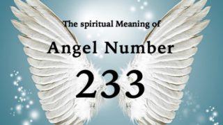 エンジェルナンバー233の数字の意味