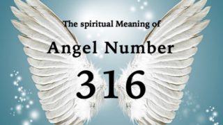 エンジェルナンバー316の数字の意味『経済的・物質的な問題から離れ、自分の内なる声や本当にやりたいことにフォーカスしましょう』