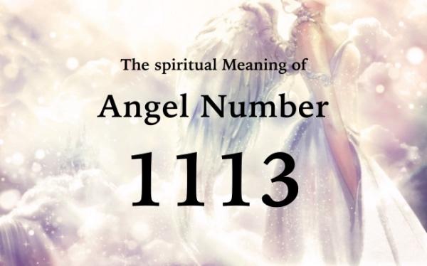 エンジェルナンバー1113の数字の意味
