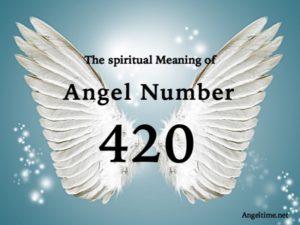 エンジェルナンバー420の数字の意味