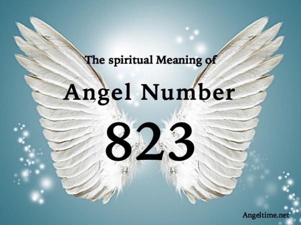 エンジェルナンバー823の数字の意味『あなたが明るくポジティブな考え方をキープするよう天使たちが支援してくれています』