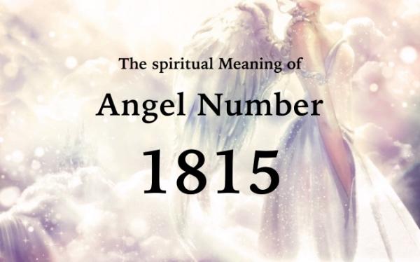 エンジェルナンバー1815の数字の意味