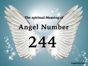 エンジェルナンバー244の数字の意味『自分自身を高次元の光の中に(本当の自分として)見出しなさい』