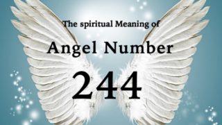 エンジェルナンバー244の数字の意味