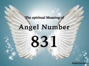 エンジェルナンバー831の数字の意味