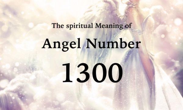 エンジェルナンバー1300の数字の意味