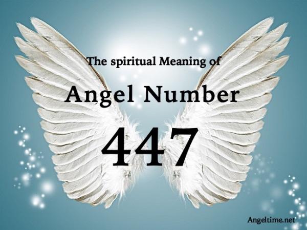 エンジェルナンバー447の数字の意味