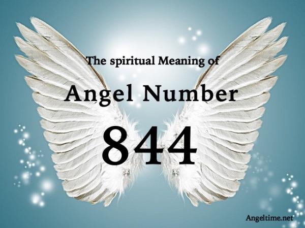 エンジェルナンバー844の数字の意味