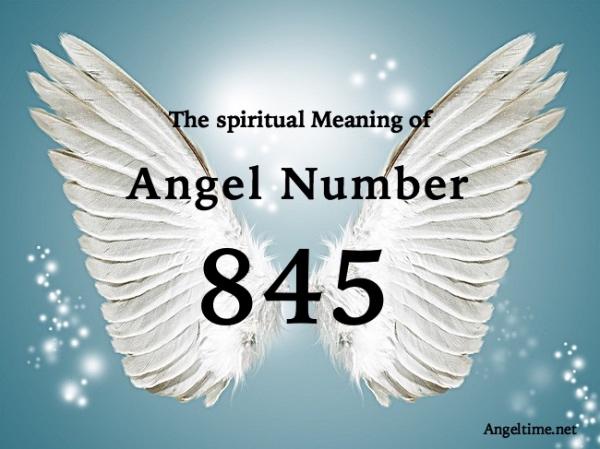 エンジェルナンバー845の数字の意味