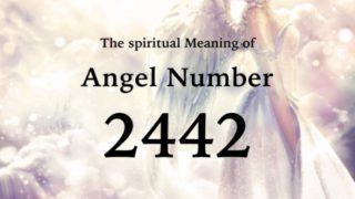 エンジェルナンバー2442の数字の意味