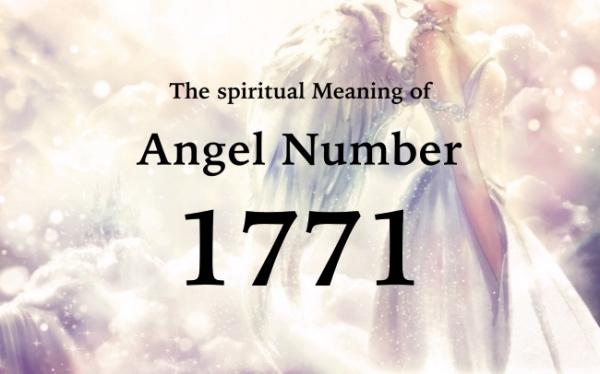 エンジェルナンバー1771の数字の意味