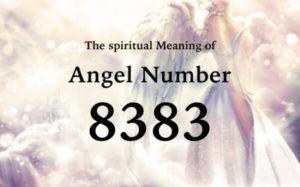 エンジェルナンバー8383の数字の意味