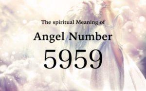 エンジェルナンバー5959の数字の意味『あなたの人生における大きな変化と物事の終わり』