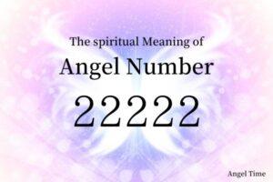 エンジェルナンバー22222の数字の意味『新しいアイデアが形になり始め、成長し始めています』