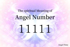 エンジェルナンバー11111の数字の意味『新しい扉が開かれ、新たなスタートに導いています』