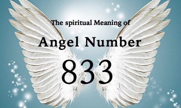 エンジェルナンバー833の数字の意味『あなたは天使やアセンデッドマスターに守られ、愛されています』