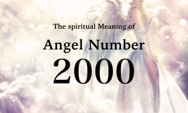 エンジェルナンバー2000の数字の意味『天使からのサポートを受け取り、あなたの人生を前進させましょう』
