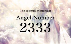 エンジェルナンバー2333の数字の意味『スキルを身に付け、自分と周りの人に前向きな光を当ててください』