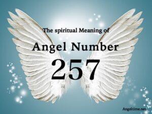 エンジェルナンバー257の数字の意味『あなたの人生に前向きな変化が起こっている』
